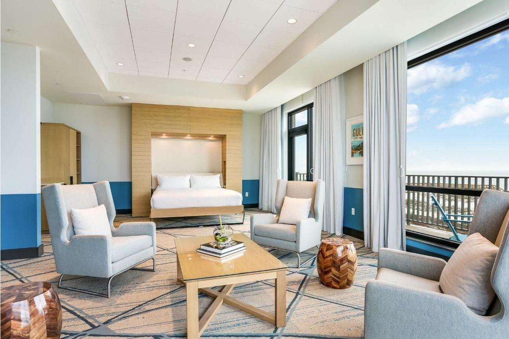 The Lodge at Gulf State Park, a Hilton Hotel: 21196 E Beach Blvd, Gulf Shores, AL