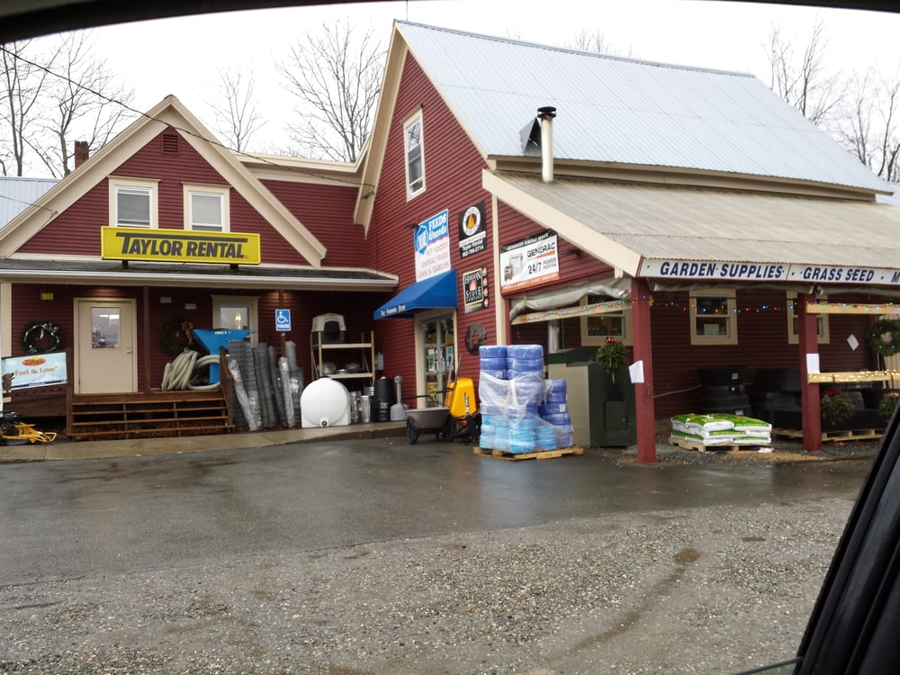 The Farmyard Store & Taylor Rental Center: 3262 US Route 5, Derby, VT