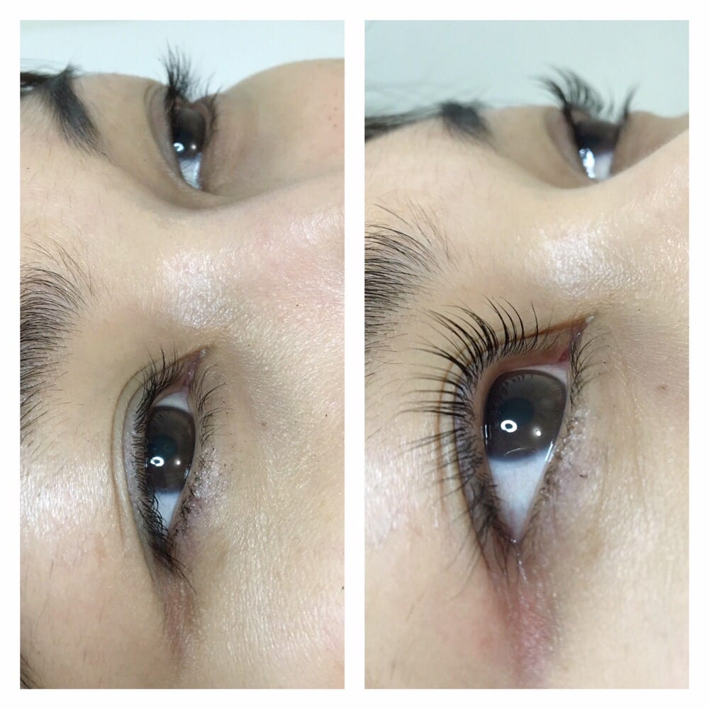 Eyelash Lifteate Natural Curl Lashes From Straight Lashes Yelp