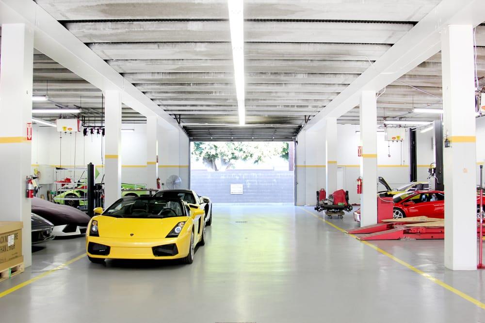 21 Lamborghini Service Bays Yelp