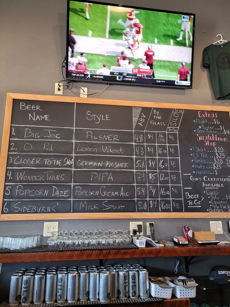 Scratchtown Brewing Company: 141 S 16th St, Ord, NE