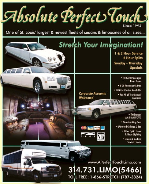 A Perfect Touch Limousine: St  Louis, MO