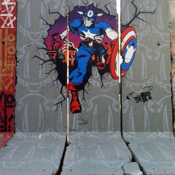 Photo Of Berlin   Wall Project   Los Angeles, CA, United States. Captain