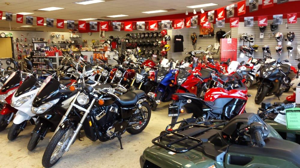 Service Honda Motorcycle