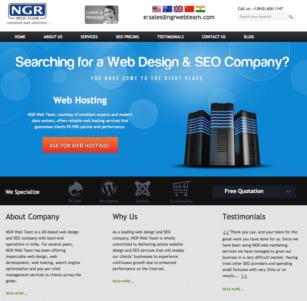 NGR Web Team