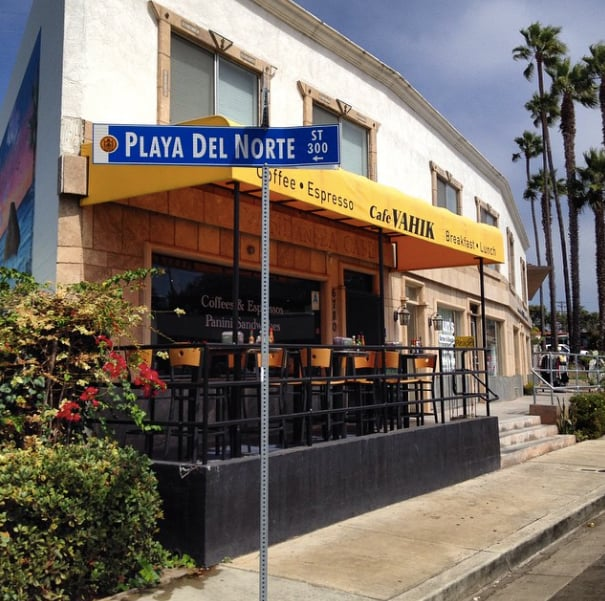 Cafe Vahik La Jolla