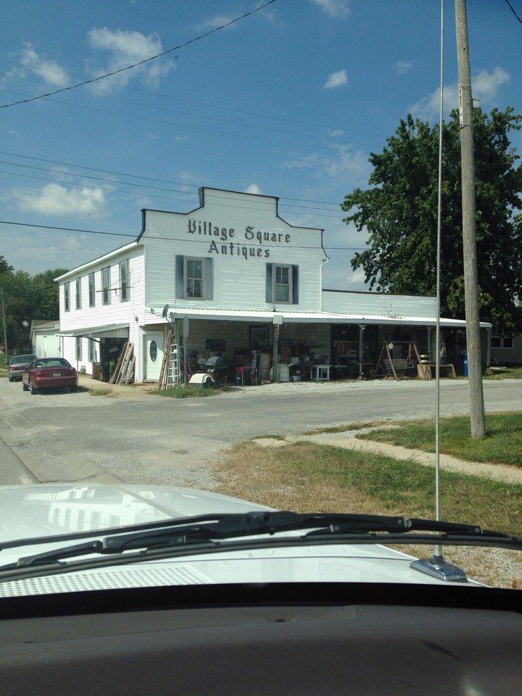 Village Square Antiques: 202 W State St, Pocahontas, IL