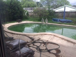 Three Weeks Of Professional Pool Maintenance And Pool