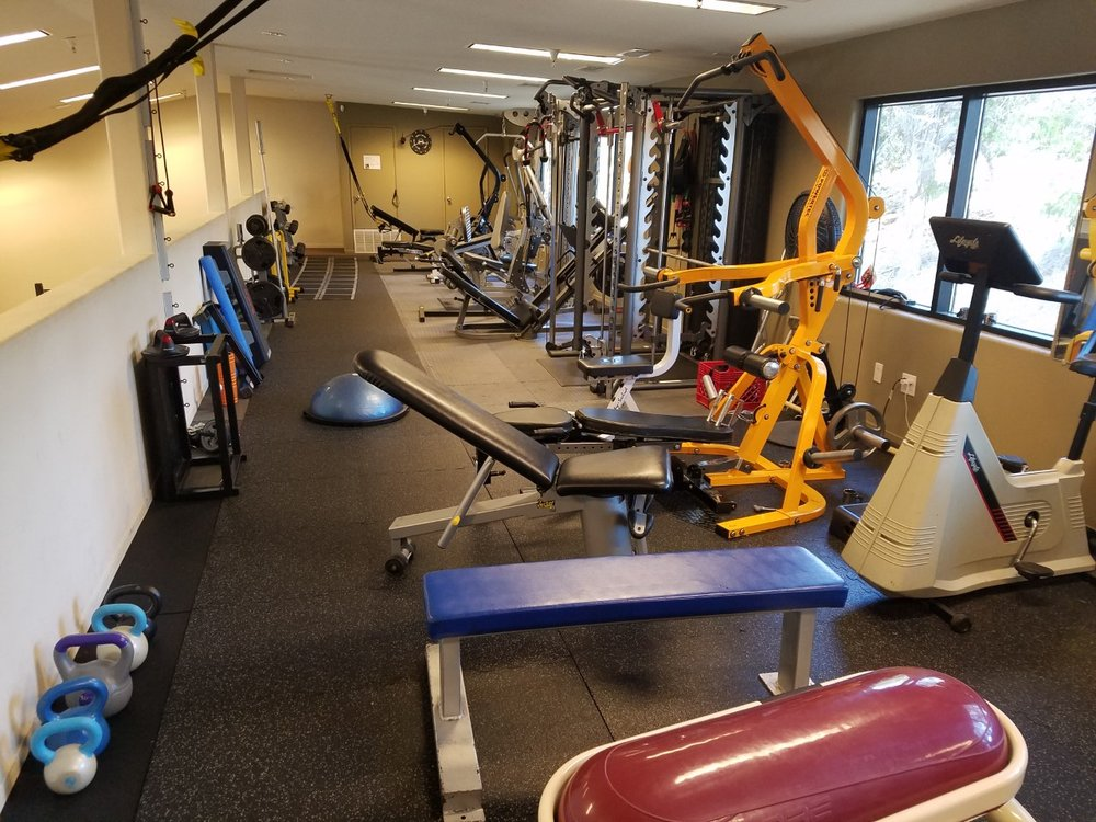 We can do any commercial gym exercise here our at our private gym