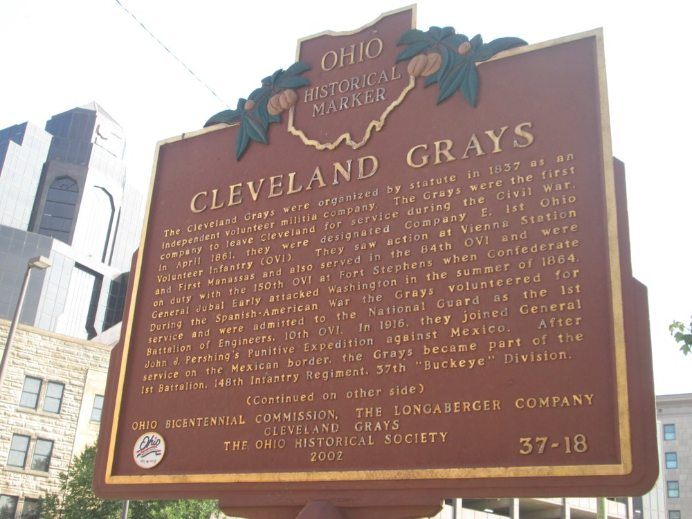 The Cleveland Grays Armory Musuem