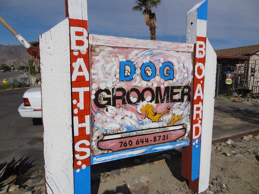 Back Country Canine / Cynthia Gasner: 860 Palm Canyon Dr, Borrego Springs, CA