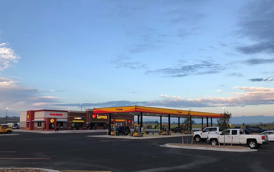 Love's Travel Stop: 3800 E State Hwy 56, Berthoud, CO