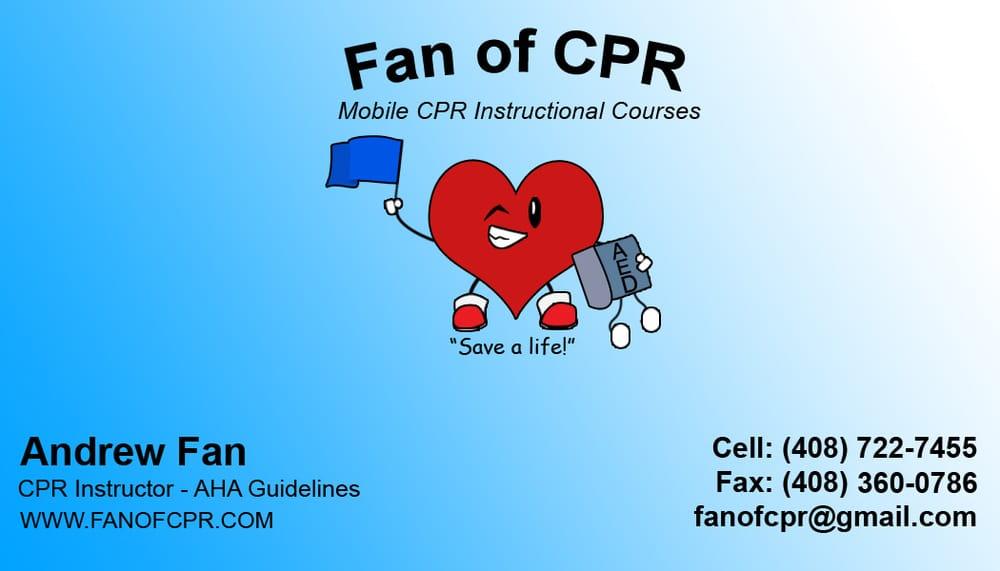 Fan Of Cpr Cpr Classes Santa Teresa San Jose Ca Phone Number