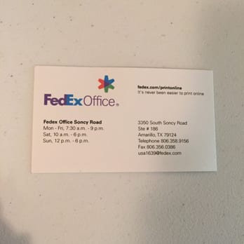 FedEx fice Print & Ship Center Shipping Centers 3350