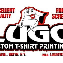 Lugo Custom T-Shirt Printing - Printing Services - 112 2nd Ave ... 8377d539369