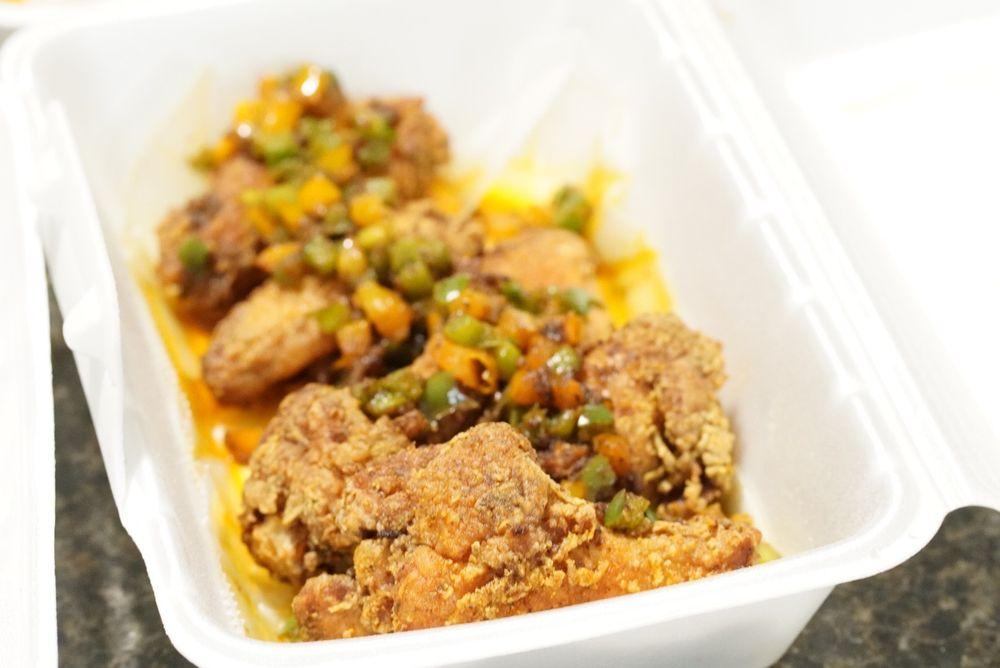 Food from NOLA Cajun Kitchen