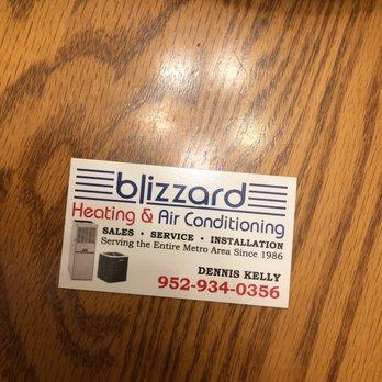 Photo Of Blizzard Air Eden Prairie Mn United States