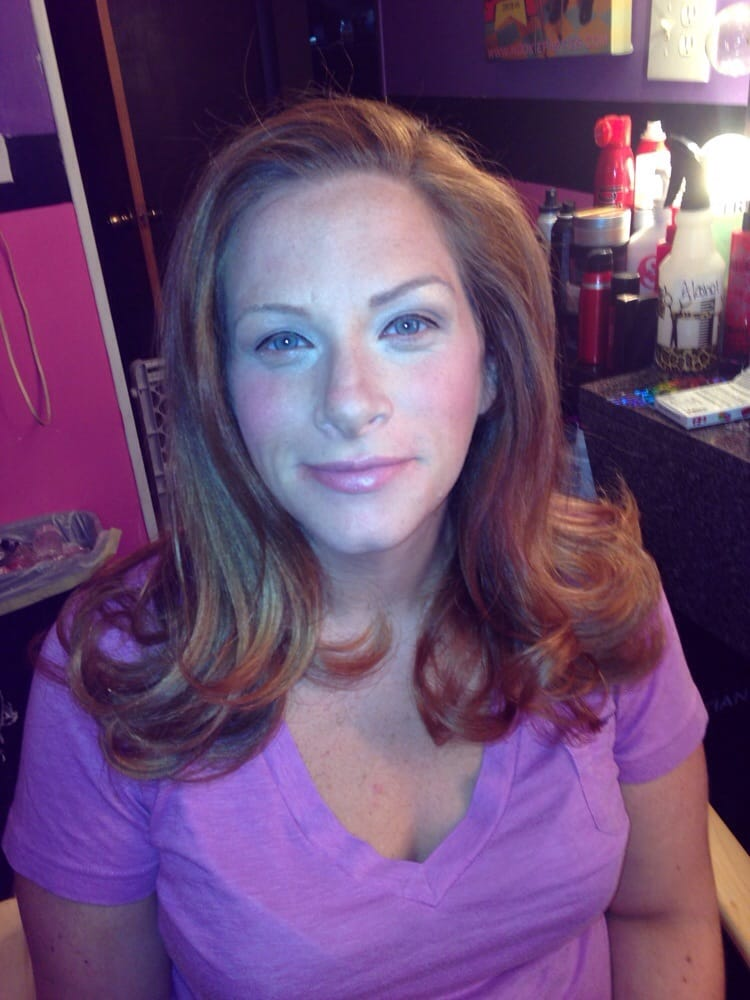 Pamper Before Her Baby Shower Nice Blowout Very Subtle Makeup Yelp