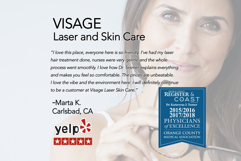 Visage Laser and Skin Care - 5 Star Review  * Skin Care