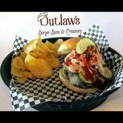 3 Outlaw S Burger Barn Creamery
