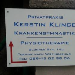 Kerstin Klinge - Physical Therapy - Glonner Str  14c, Putzbrunn