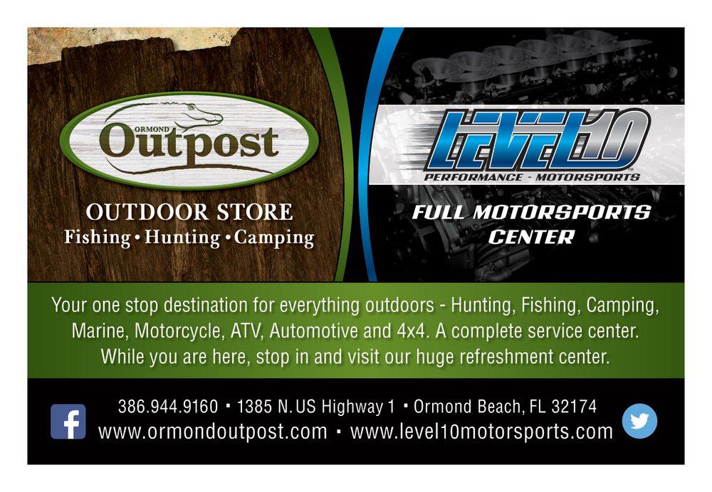 Level 10 Motorsports: 1385 N US Highway 1, Ormond Beach, FL