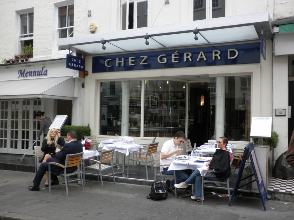 Chez Gerard Restaurant Charlotte Street London