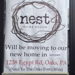 Photo Of Nest Home Decor Oaks Pa United States New Address At