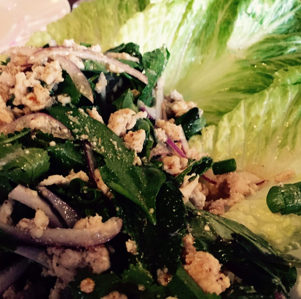 Larb chicken salad yelp for Areeya thai noodle cuisine menu