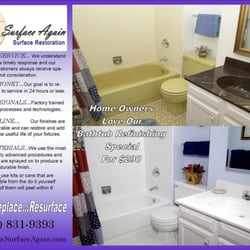 Photo Of Tampa Tub Refinishing   Clearwater, FL, United States. Flyer