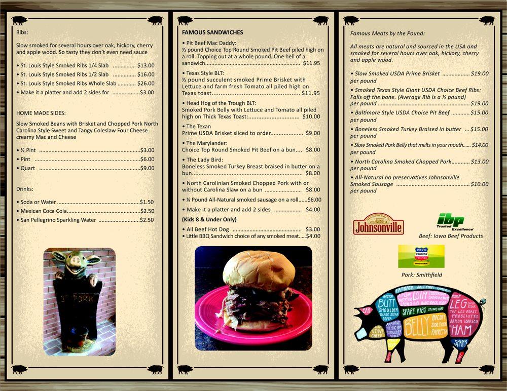 Five Pigs BBQ: 14917 James Monroe Hwy, Leesburg, VA
