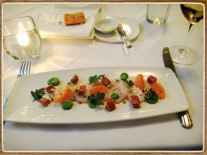 Seagrass Restaurant Santa Barbara Menu