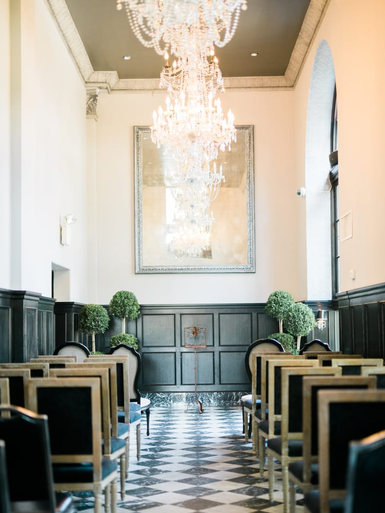 Photo Of The Culver Hotel City Ca United States Ceremony Set