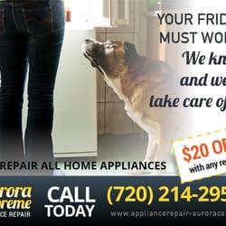 Aurora Supreme Appliance Repair Appliances Amp Repair