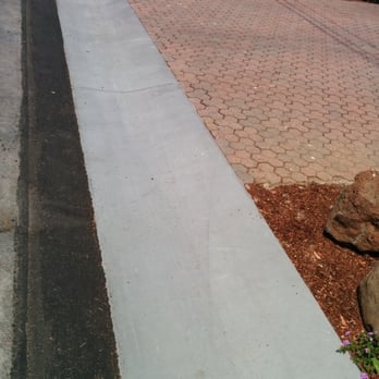 Photo Of Peninsula Concrete Contractors   Redwood City, CA, United States.  The Curb