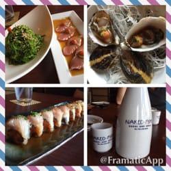 Naked fish s sushi grill 502 photos 390 reviews for Naked fish menu