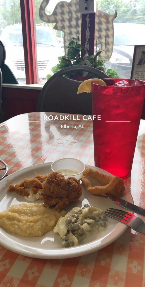 Roadkill Cafe: 25076 State St, Elberta, AL