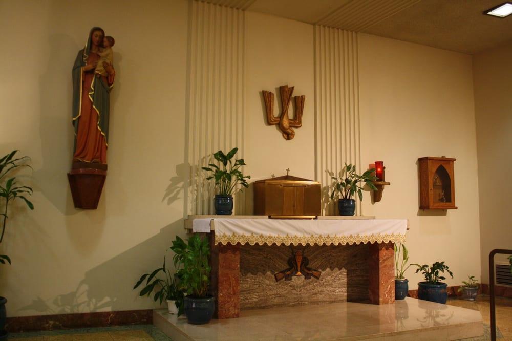 St Bernadette Catholic Church: 3825 Don Felipe Dr, Los Angeles, CA