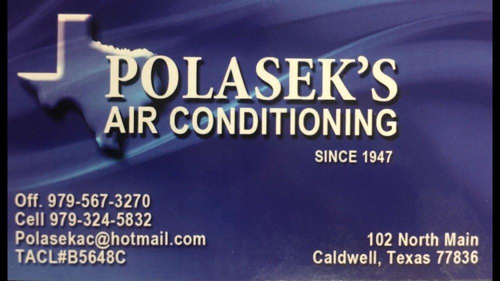 Polasek Air Conditioning: 102 N Main St, Caldwell, TX