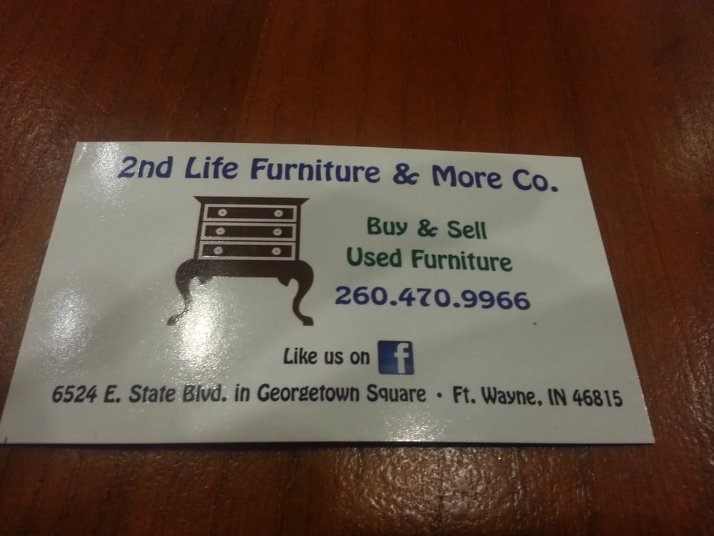 2nd Life Furniture U0026 More   Furniture Stores   6524 E State Blvd, Fort Wayne,  IN   Phone Number   Yelp