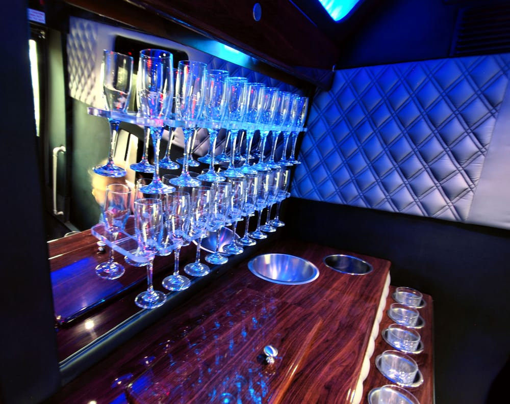 NYC Party Limo Bus Rental: 110 10th St, Jersey City, NJ