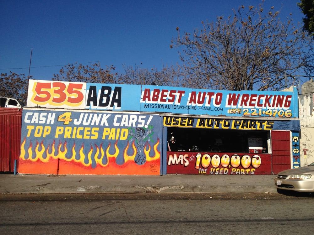 A Best Auto Wrecking - 12 Photos - Auto Parts & Supplies - 535 ...