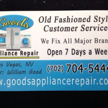 Photo Of Good S Liance Repair Las Vegas Nv United States Business Saved