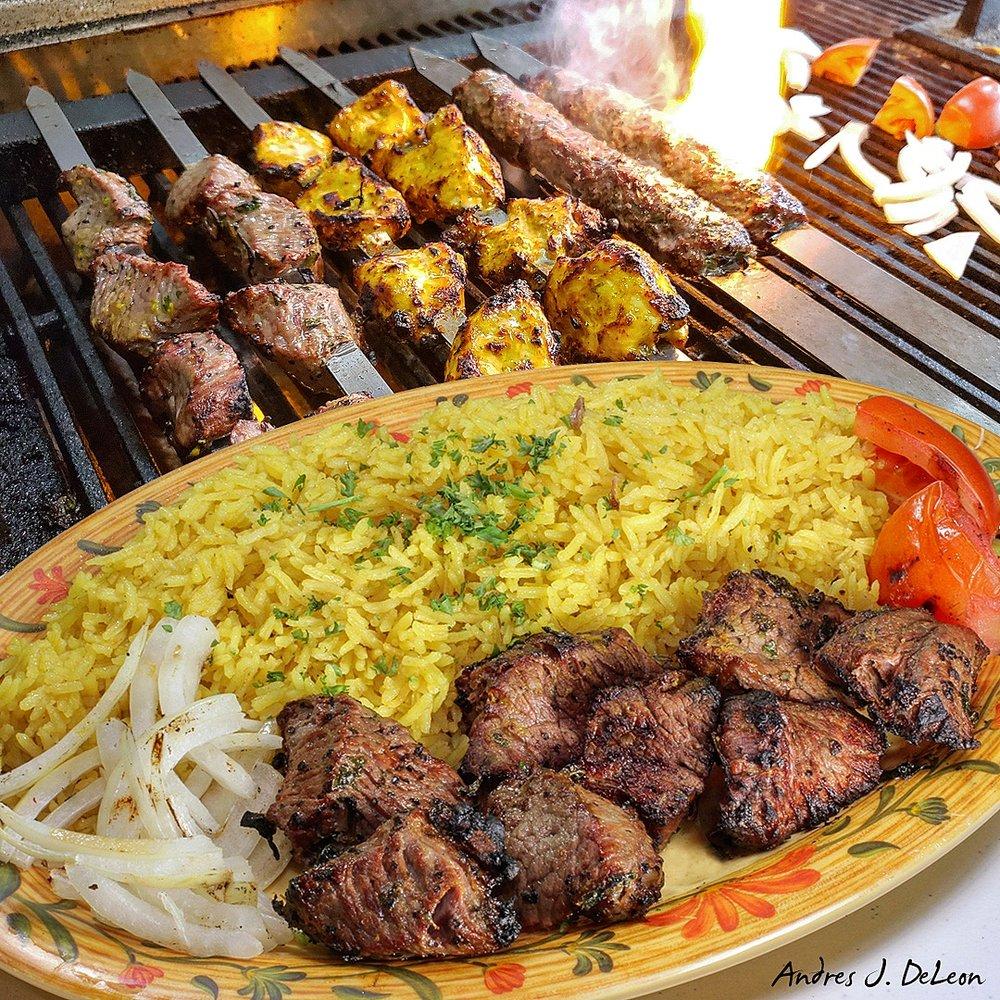Food from Shawarma Garden