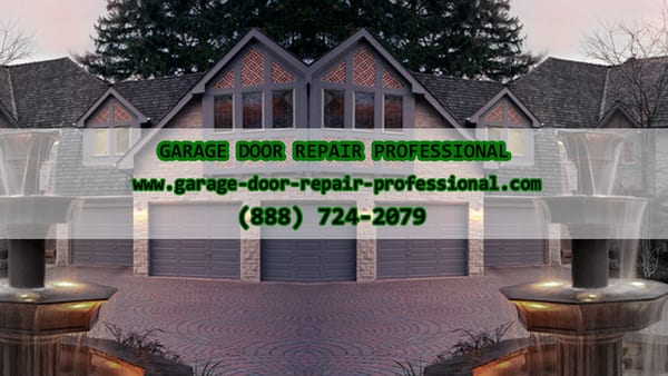 Garage Door Repair Professional Garage Door Services
