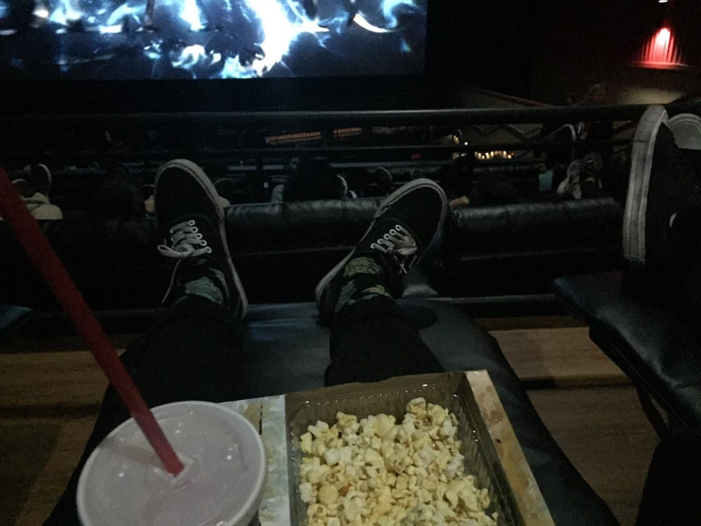 Automatic recliner chairs are very comfortable yelp for Regal theater garden grove