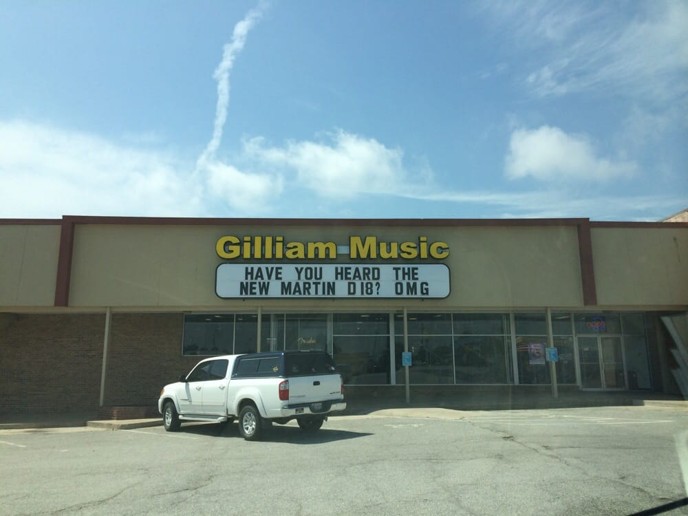 Gilliam Music: 2280 W Main St, Norman, OK