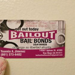 Bail out bail bonds bail bondsmen 14507 sylvan st van nuys van photo of bail out bail bonds van nuys ca united states bailout reheart Choice Image