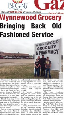 photo of wynnewood grocery and pharmacy wynnewood ok united states - Cvr Pharmacy
