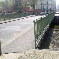 Pont tournant de la grange aux belles 11 photos lieu for Exterieur quai gare de l est